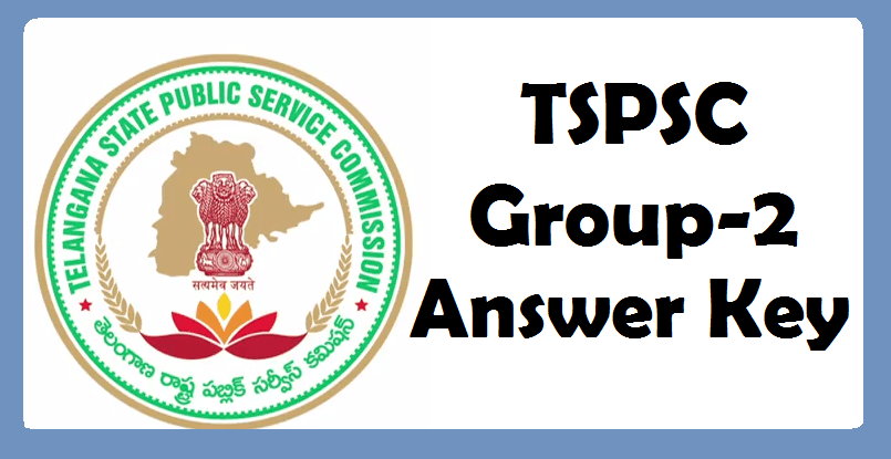 TSPSC releases final key for Group-2 exam