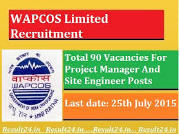 WAPCOS Limited Recruitment 2015