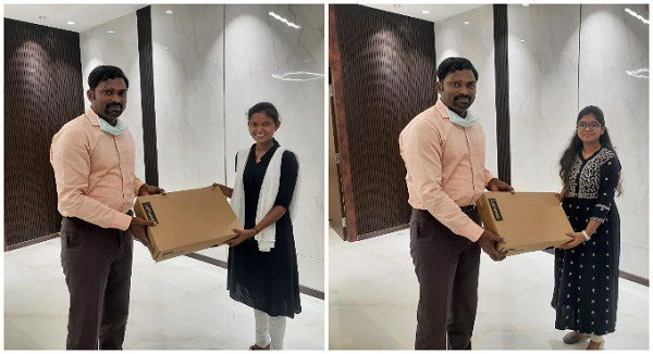 Three students from TSWREIS bags US fellowships, one among them labourers daughter
