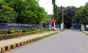 University of Hyderabad  issued  notification for MBA adminssions