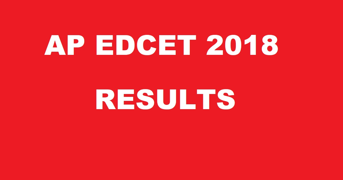 AP Edcet results declared