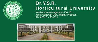 Dr. Y.S.R. Horticultural University Invites Applications for B.Sc (Hons.) Program 2015