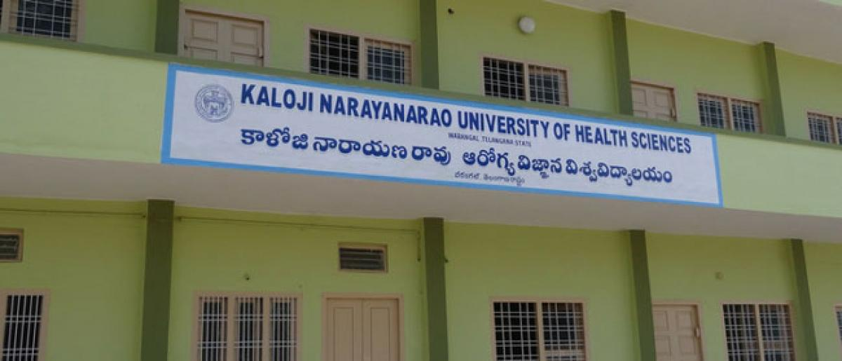 Telangana High Court allows the KNRU to fill MBBS admissions