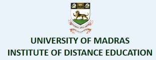 University of Madras IDE Invites Applications for Distance UG/PG 2015