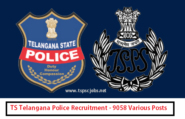 Telangana Police Constable Recruitment 2016 Online Application Form for 9281 Jobs