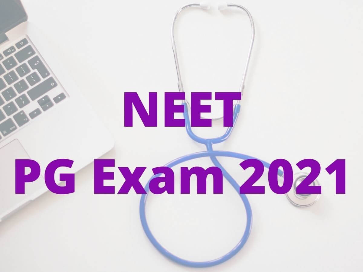 NTA to release NEET PG 2021 admit card tomorrow