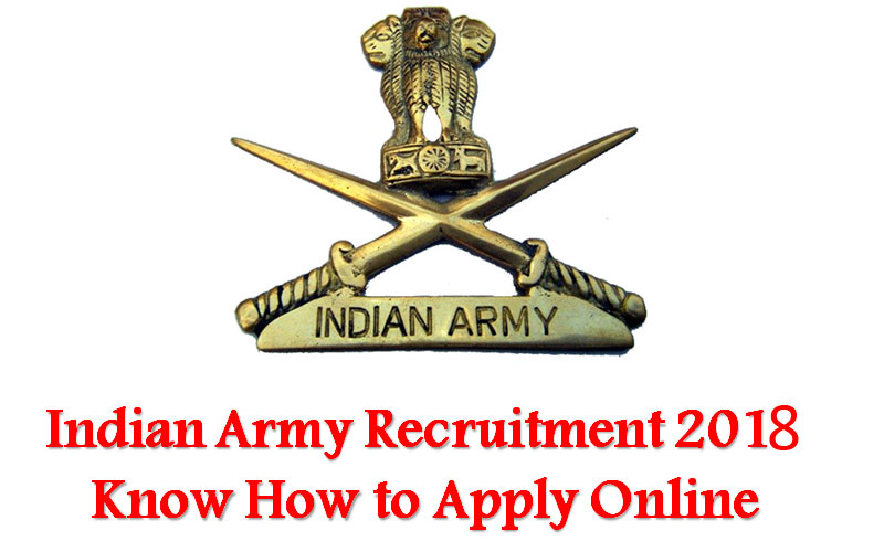 Indian Army Recruitment 2018: 14 posts, apply before August 16