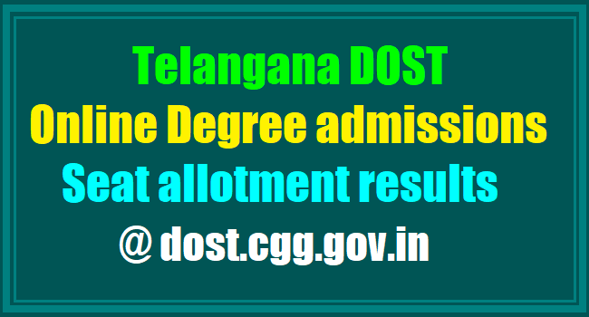 TS DOST phase-I: 1.05 lakh students allotted seats