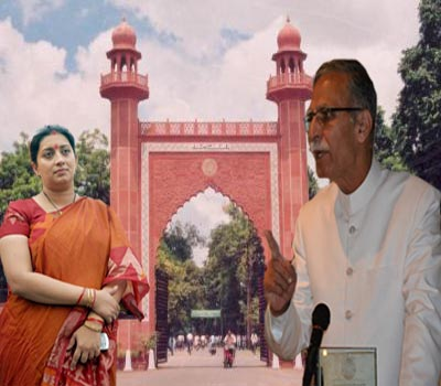 Aligarh Muslim University warns Smriti Irani of