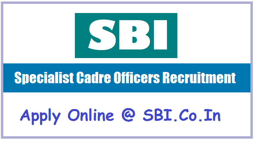 SBI SO Recruitment Alert 2019: Apply for Manager & other posts via sbi.co.in, details here