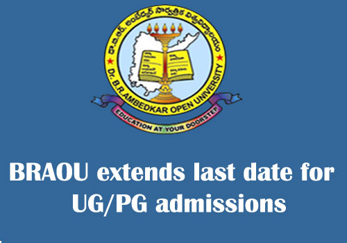 BRAOU extends admission date