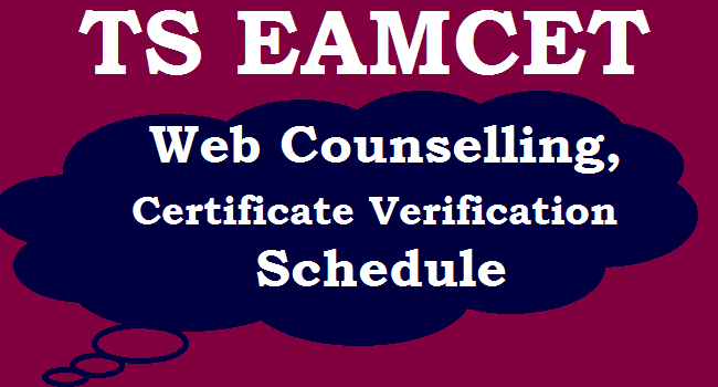 Notification for TS Eamcet web counselling released