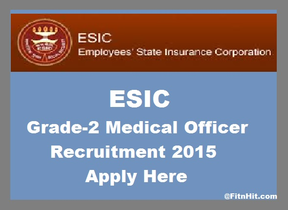 Recruitment of Insurance Medical Officers in ESIC