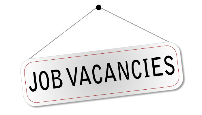 Job  vacancies  available for the post of