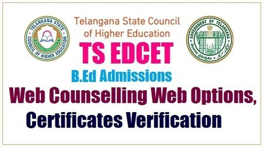 Verification for B.Ed admissions from today