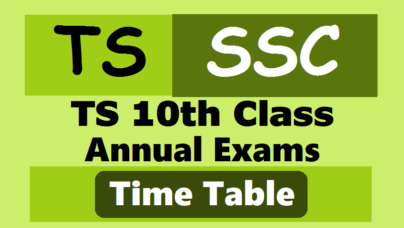 Telangana State SSC exams to commence on March 16