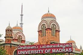 University of Madras Invites Applications for Master of Law Program 2015