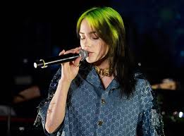 Singer Billie Eilish is Billboard