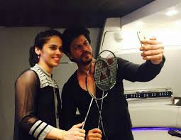 Shah Rukh Khan meet with Saina Nehwal