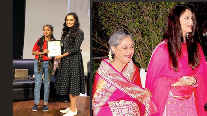 On International Women's Day Bollywood stars took social media platform to wish fans