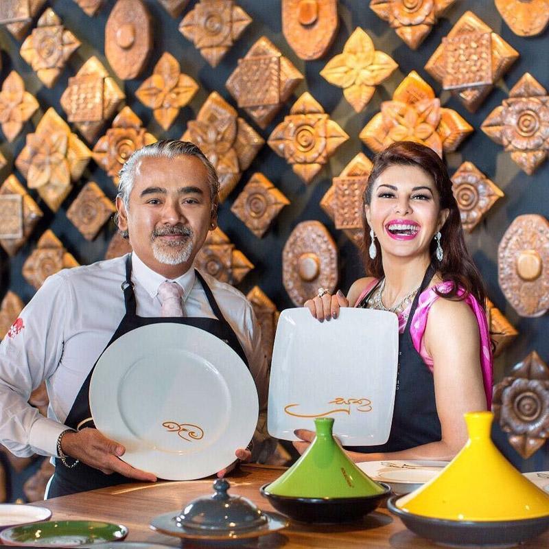 Jacqueline Fernandez opens her first restaurant called Kaema Sutra