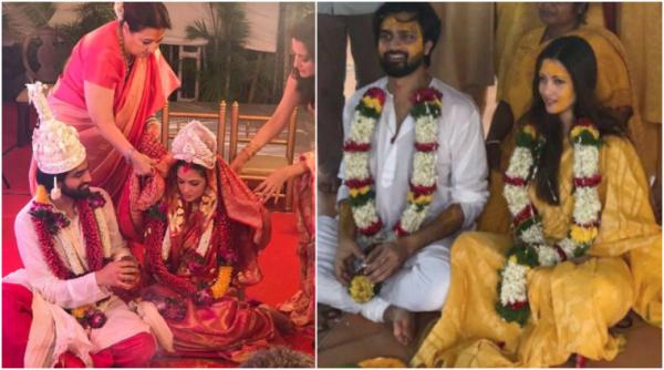 Riya Sen ties knot with boyfriend Shivam Tewari