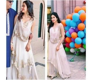Jhanvi Kapoor made heads turn at her rumoured boyfriend Akshat Rajan