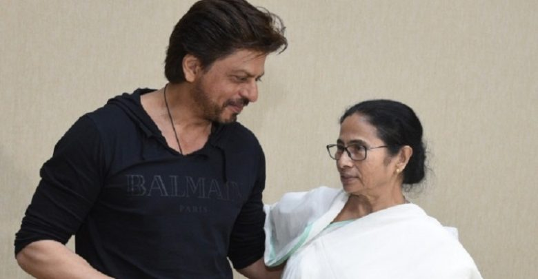 Mamata wishes Shah Rukh Khan on his birthday