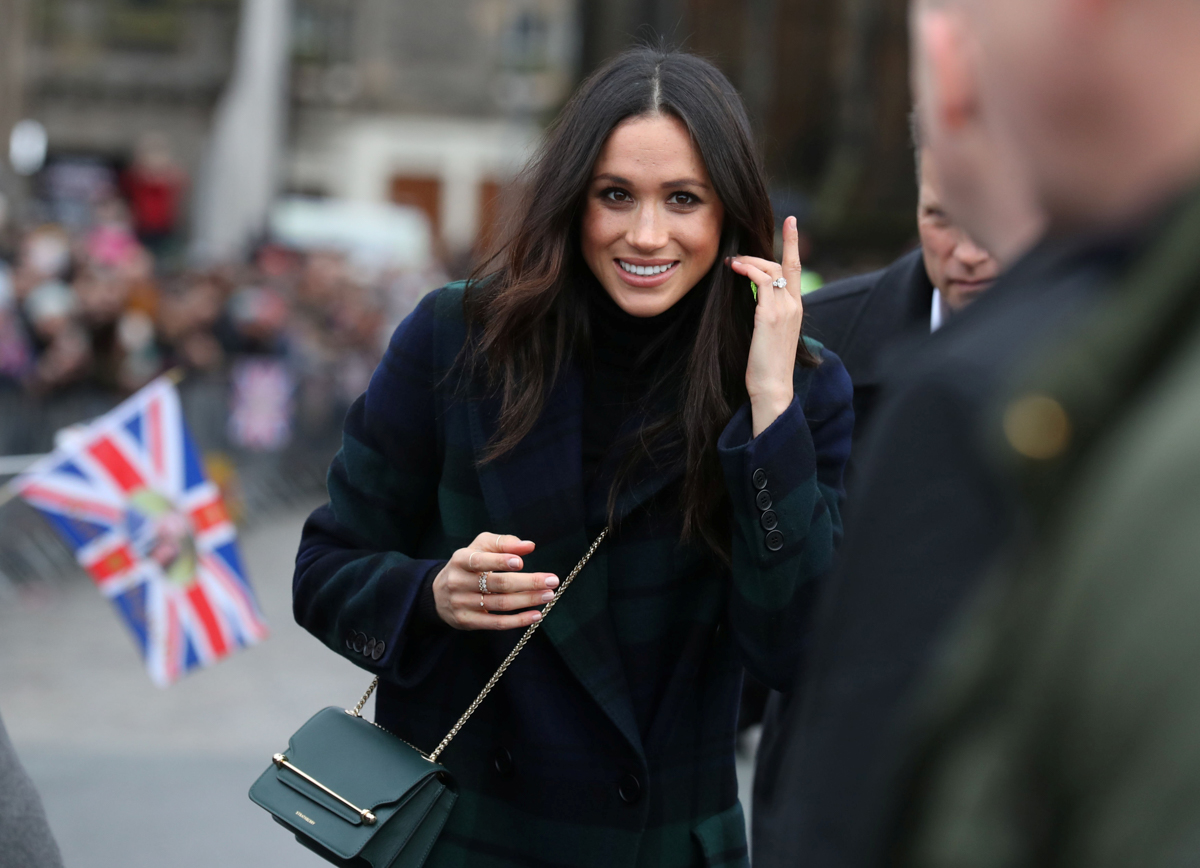 Meghan Markle sets a new trend with a cross-body bag