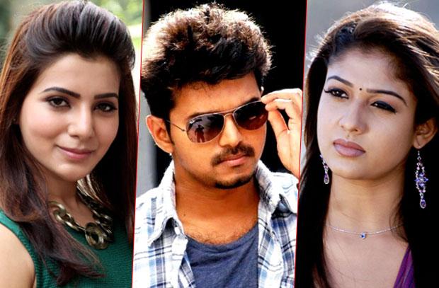 Income Tax raids at actors Vijay, Samantha houses