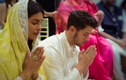 Priyanka Chopra, Nick Jonas marry in traditional Hindu ceremony