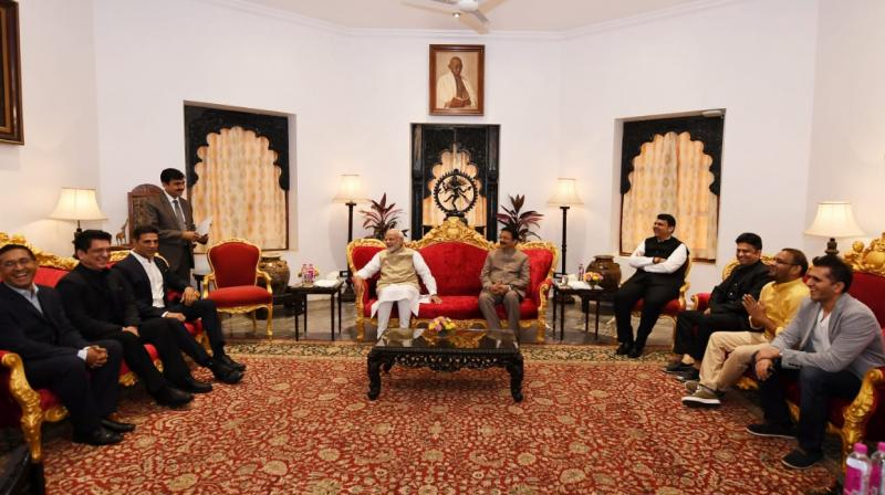 Delegation from film and entertainment industry meets PM Modi
