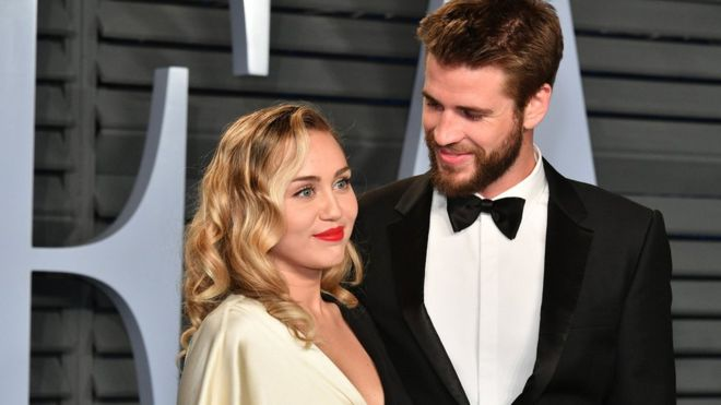 Miley Cyrus, Liam Hemsworth confirm marriage