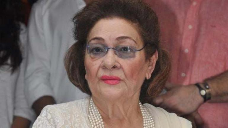 Krishna Raj Kapoor. wife of Raj Kapoor  dies at 87