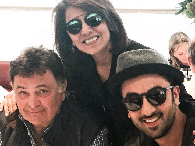 Ranbir celebrates 33rd birthday in London