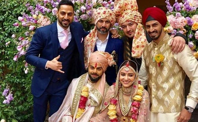 Virat Kohli, Anushka Sharma tie the blesssed knot in Italy with family