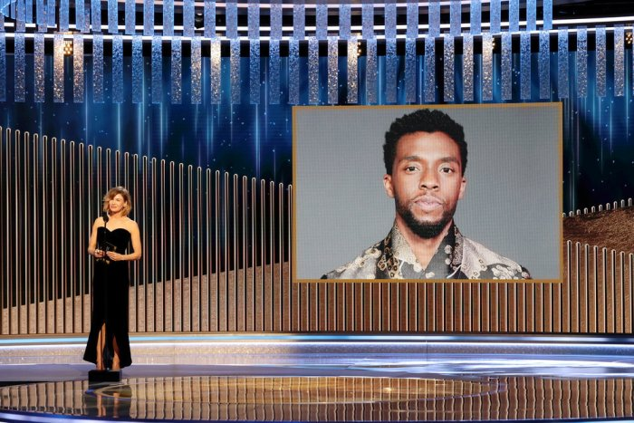 Posthumous Golden Globe win for Chadwick Boseman