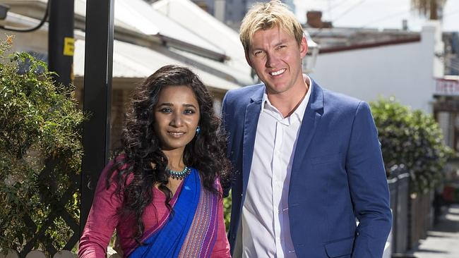 Ex-Aussie pacer Brett Lee launched his movie career