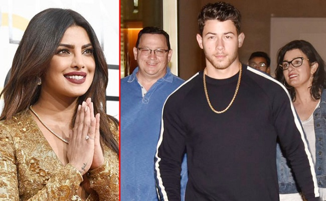 Nick Jonas, parents in Mumbai to meet Priyanka Chopra