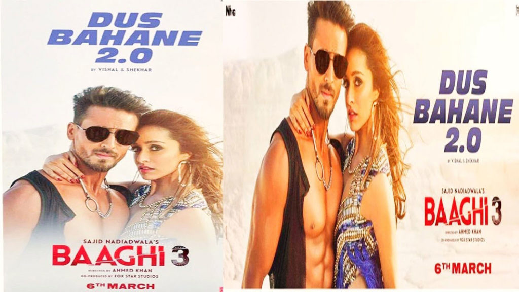 actionpacked(baaghi3):songdusbahane20recreateoriginalscharm