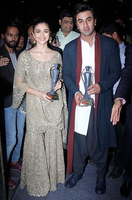 Ranbir Kapoor & Alia Bhatt Win