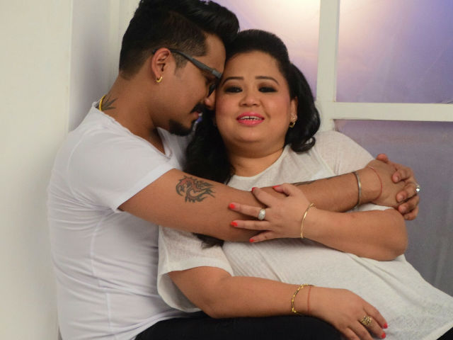 Bharti Singh And Haarsh Limbachiyaa Strike Couple Poses In Pre-Pre-Wedding Shoot