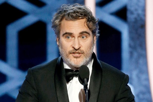Golden Globes: Joaquin Phoenix calls for action on climate change