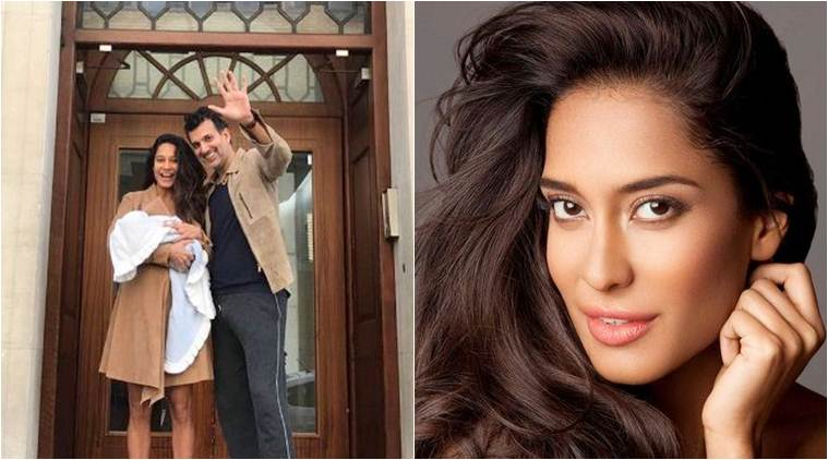 Lisa Haydon and Dino Lalvani welcome baby boy, name him Zack