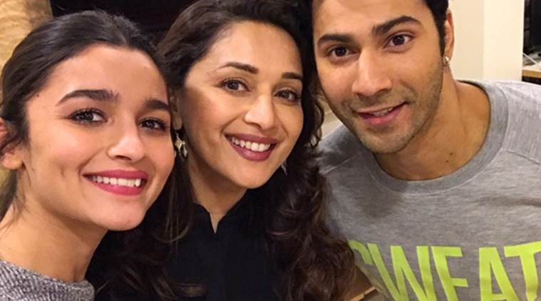 Madhuri Dixit starts shooting for the film Kalank with Alia Bhatt