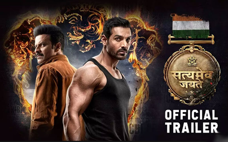 Satyameva Jayate trailer watch video: John Abraham shines in his action avatar