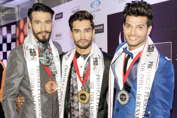 Rohit Khandelwal declared Mr.India 2015