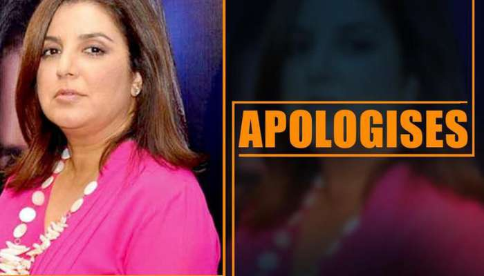 Farah Khan apologises for