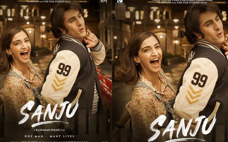 Sanju new poster: Ranbir and Sonam give a hint of Sanjay Dutt