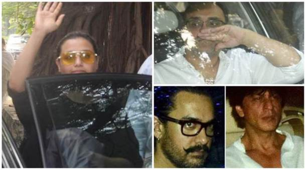 Aamir, others pay last respects to Rani